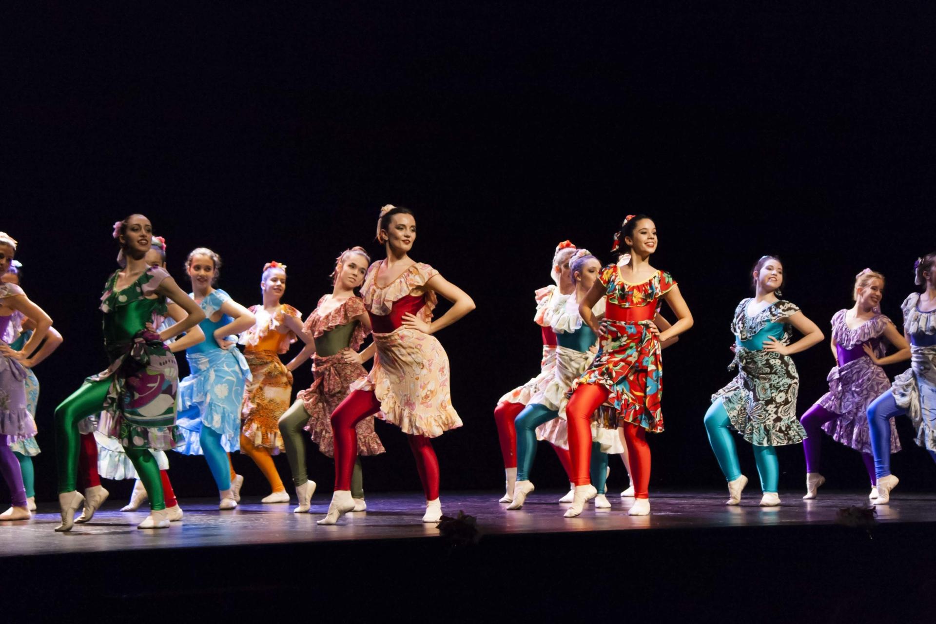 ballet tiempo presente clase folclore de países
